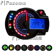 Hot Sale Pazoma Motorcycle Part Digital Speed Meter For ATV And Street Bike