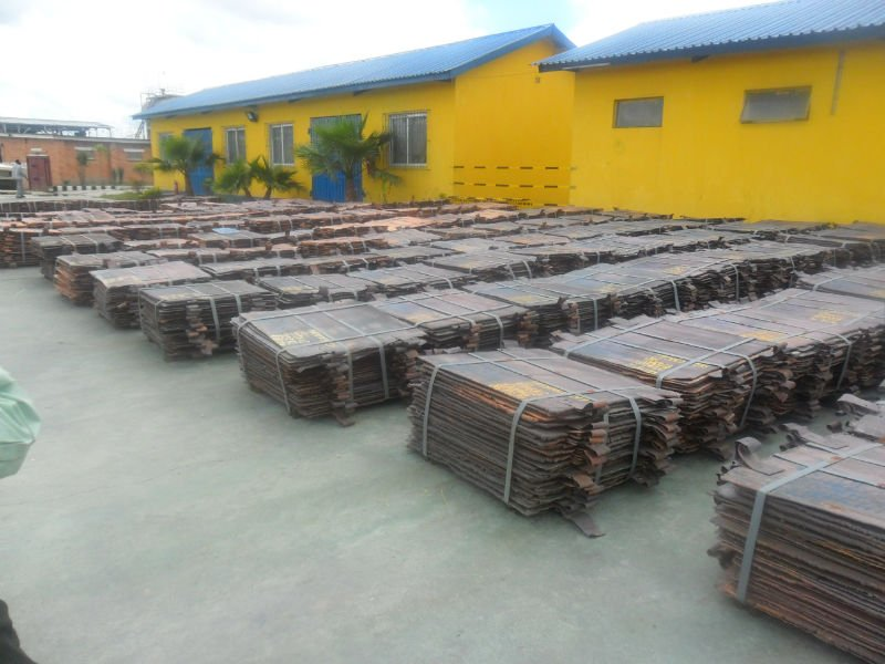 COPPER CATHODES Grade A ( Electrolytic Copper Grade )