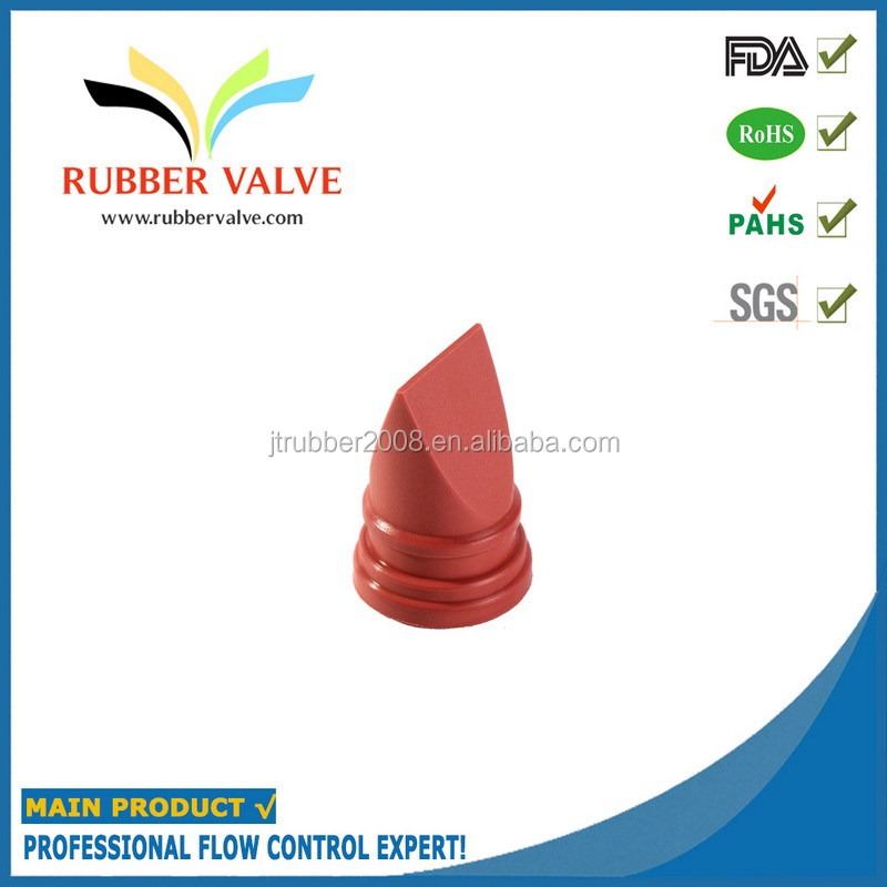 silicone valve dispensing