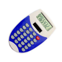 small solar mobile shaped calculator, color mixing calculator/ HLD-800