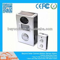Gsm Outdoor Camera Alarm Motion Sensor Alarm With Video Record and Solar Panel