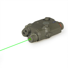 20-0025 Tactical Combat Army Scout Sniper Aiming Target Shooting Military Hunting PEQ Green Laser Sight