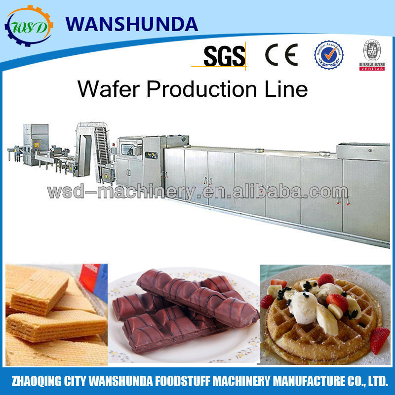 Full automatic chocolate/wafer biscuit machine