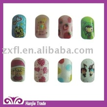 Cute kids nail artificial nail art design for children's Day