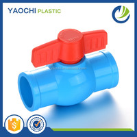 China Wholesale BOYAN TaiZhou Price Blue Thailand Plastic PVC Ball Valve