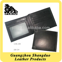 Professional Customizable Design 100% Leather Wallet for Man