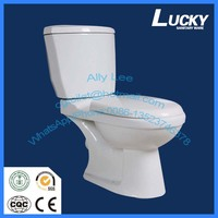 Cheap two piece toilet,ceramic, low price washdown WC toilet