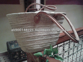 Palm leaves baskets