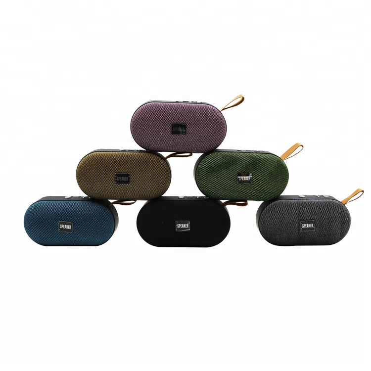 mini fabric portable amplifier wireless <strong>speaker</strong> T7