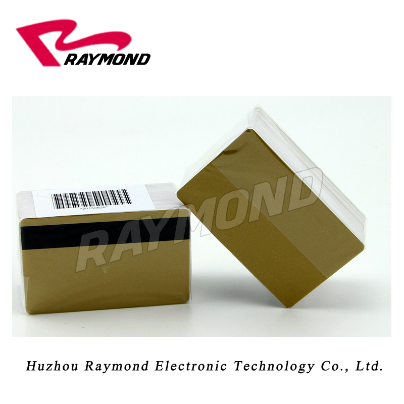 blank or preprinted hi-co magnetic stripe card