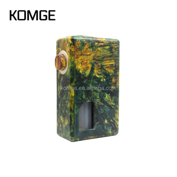 Komge 510 Thread 24mm Electronic Cigarette Stab Wood Mod Squonk Keel Mod