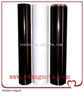 Double sided adhesive thin pvc laminated blank A4 rubber magnet