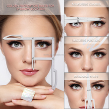 New Arrival Eyebrow Microblading Measuring Tools Golden Ratio Divider