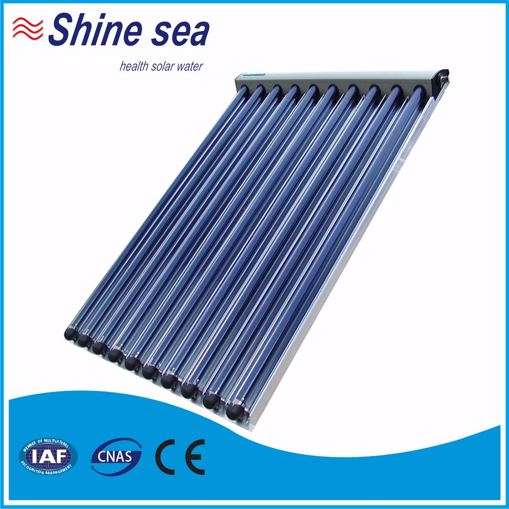 China supplier three target vacuum tube heating solar collector