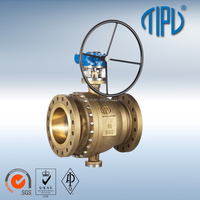 Flanged Trunnion Mounted Aluminum Bronze Ball Valve
