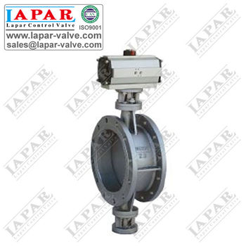 LPB17 Aeration Butterfly Valve with Pneumatic Actuator - Lapar Valve