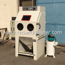 Stainless Steel Wet Sand Blast Machine Water Sandblasting / blasting cabinet