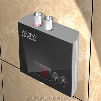 Wall mounted digital water heater