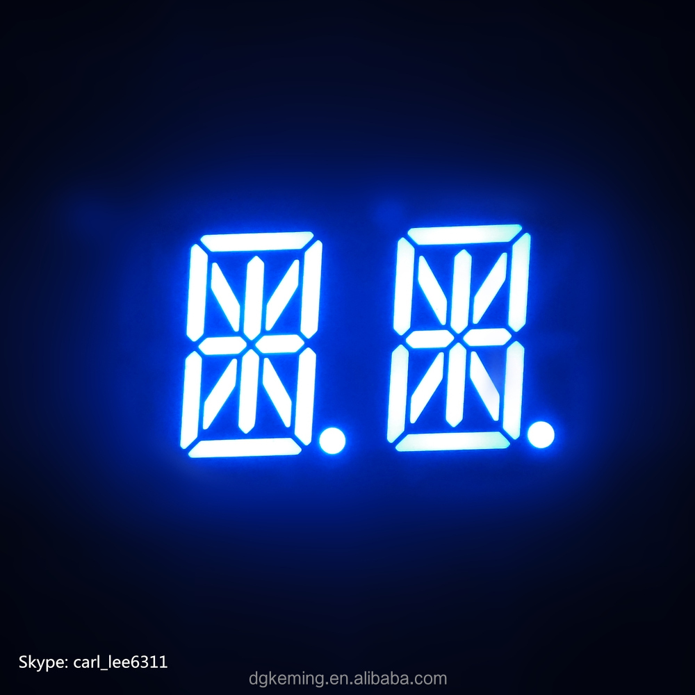 Alphanumeric led 16 segment display 14 segment alph display