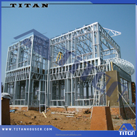 Light Steel Frame Structure for Building Villa