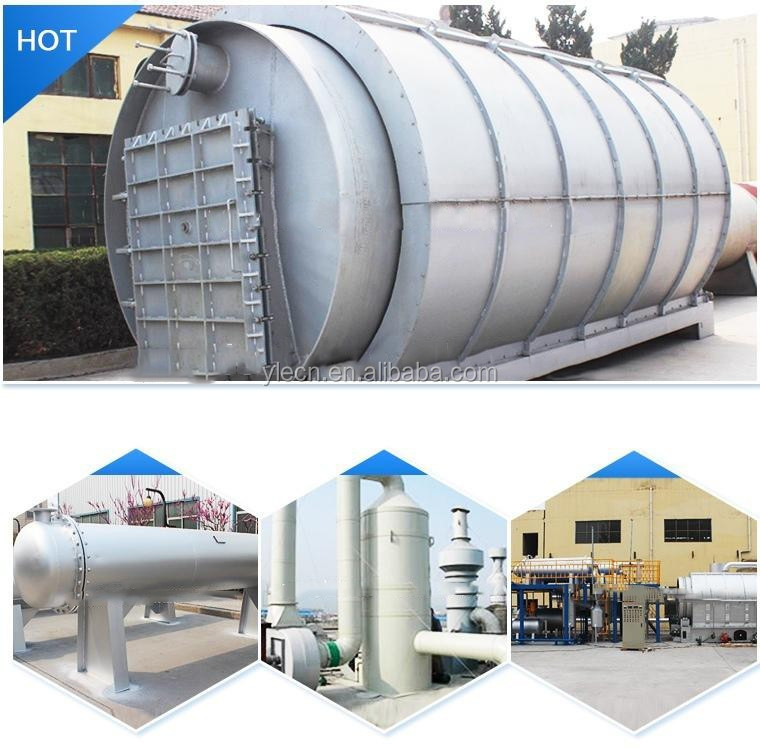 Environmental protection waste tire recycling pyrolysis equipment