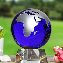 new fashion 60mm 80mm 100mm blue glass globe