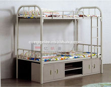 Modern Furniture Metal Beds, Steel Bunk Bed with Drawers, Japanese Tatami Folding Sofa Bed