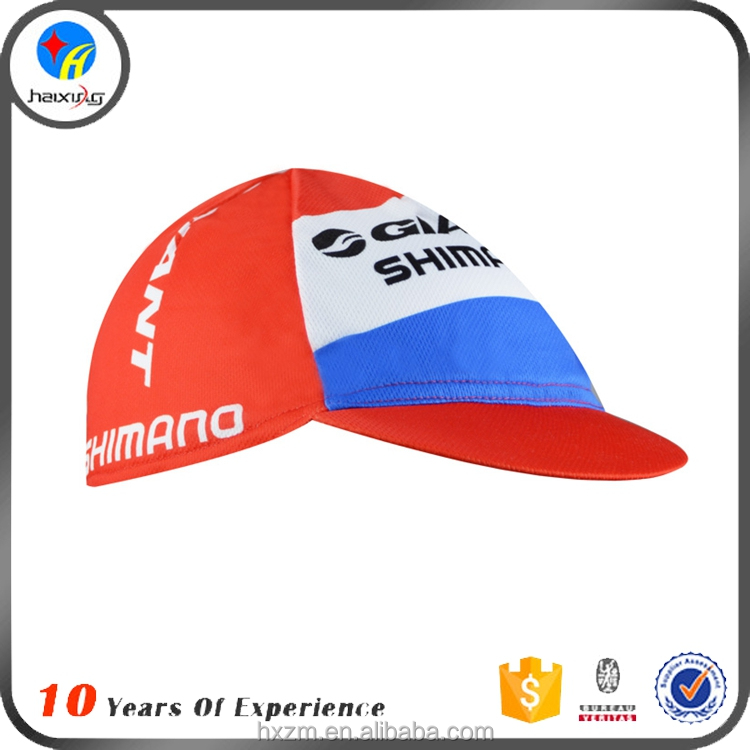 OEM Cheap 100% Polyester Bike Cycling Hat for Men