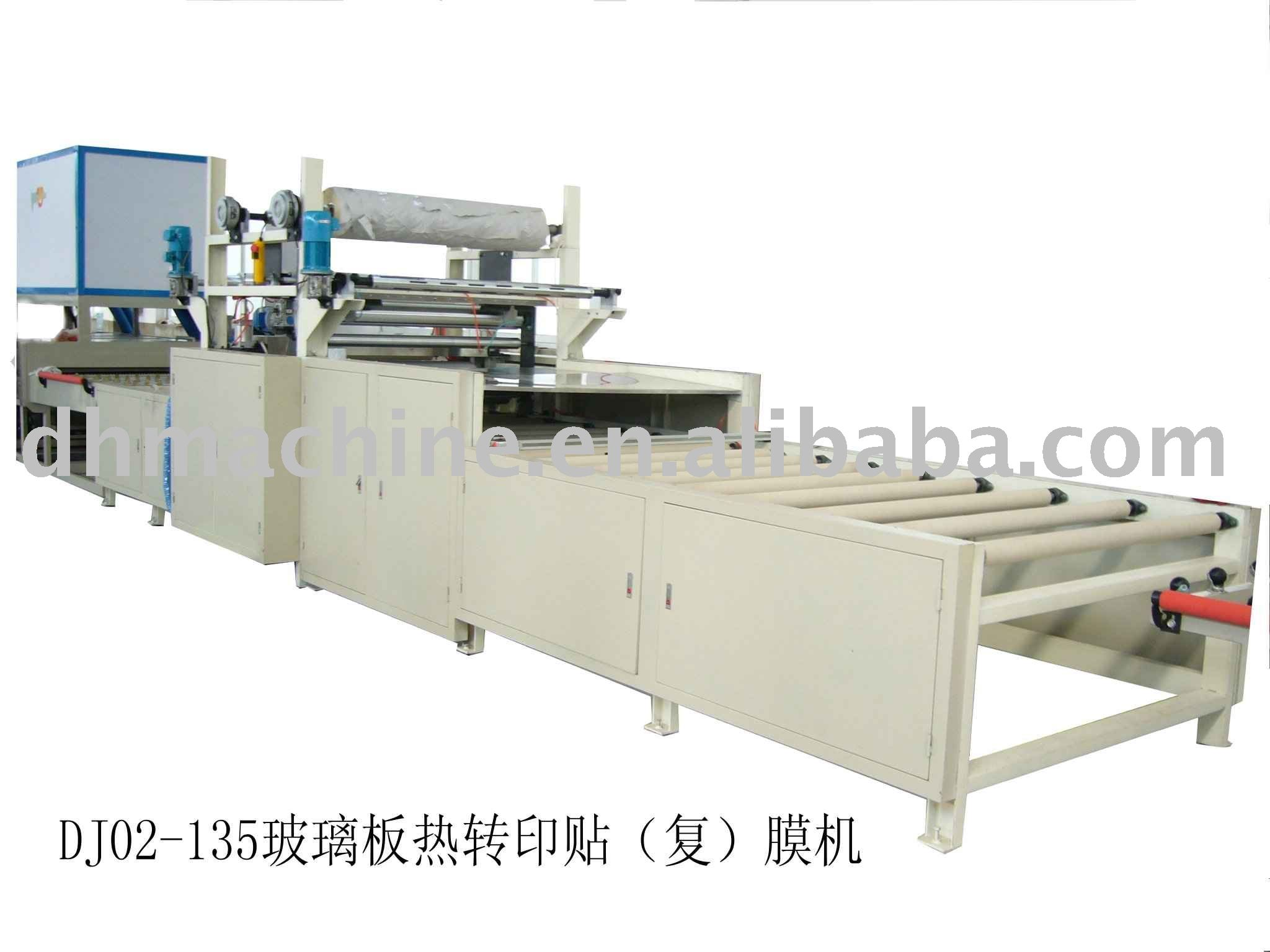 Glass cleaning machine and film laminator