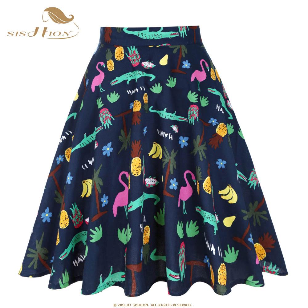 Detail Feedback Questions about SISHION Navy Blue Cotton Skirt ... de6bff36aa0e