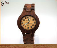 High quality new fashion wooden watch, , wooden wrist watch
