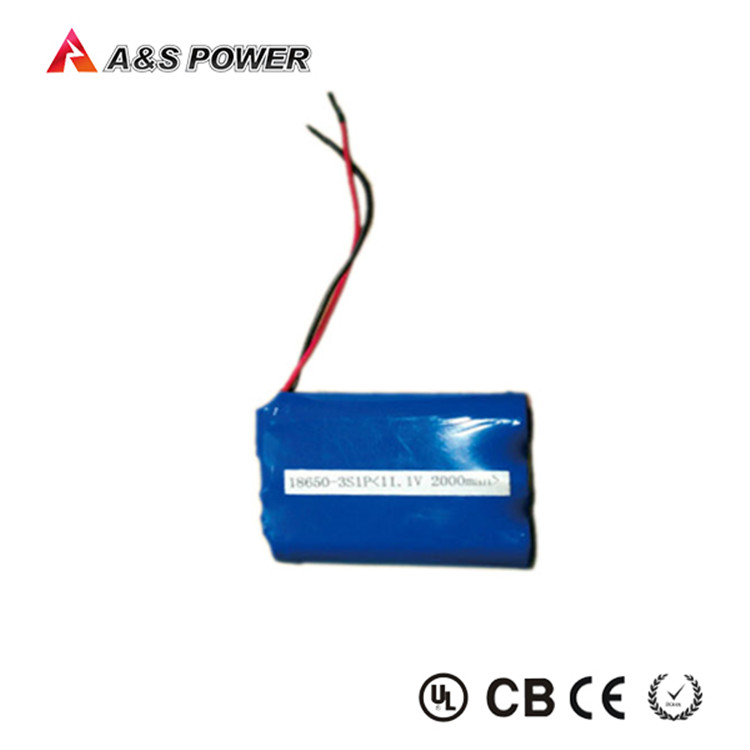 rechargeable flat 12v light weight battery packs 18650 battery case for power bank