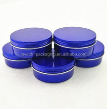black candle tins decorative tins small metal container round aluminum tin can