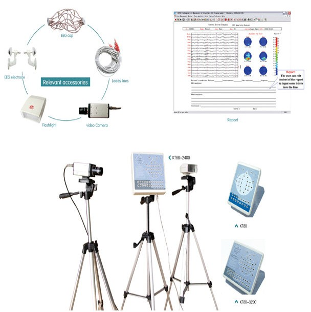 KT88 Digital Brain Electric Activity Mapping EEG Machine