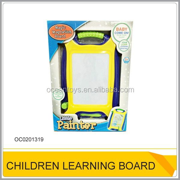 Kids magnetic drawing board Plastic learning tablet toys for sale OC0201319