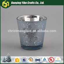 2016 New product Promotion glass votive candle holders antique