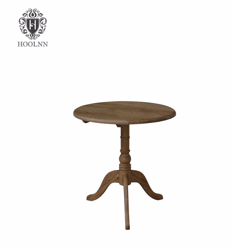French Vintage Round Wooden Coffee Table S1060 Buy