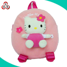 hello kitty backpack bag plush hello kity school bag for kids