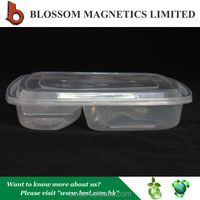 Eco Friendly 3 Compartment Container packaging