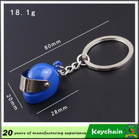 2016 Germany brand new designer personality novelty motorcycle helmet shaped keychain/keyring wholesale (HH-keychain-044)
