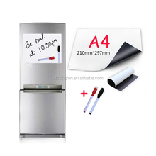 Customized Logo Blank Fridge Magnet With Pen For Promotion