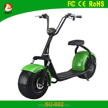 Powerful fat tire 2017 new halley electric scooter 1000w