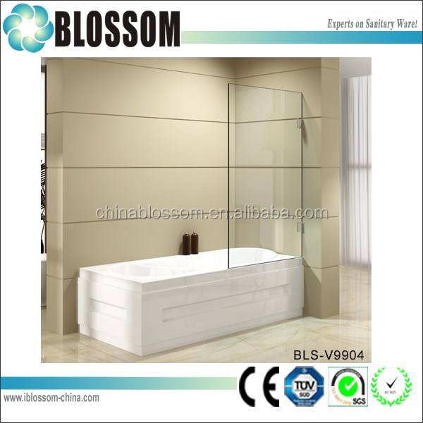 European style 10 mm tempered glass bath shower screens
