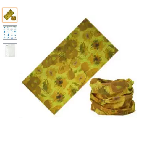 Hot selling multifunctional seamless Floral Butterfly Design Versatile Magic headwear bandana with custom logo