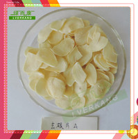 Nice Natural white dehydrated natural dried garlic sliced price, good garlic spice from Yongnian, Hebei,China
