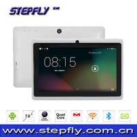 7 inch HD screen Allwinner A33 Quad core Android 4.4 WIFI bluetooth tablet pc Q89