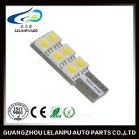 Canbus T10 194 168 W5W LED 5050 6 SMD White Car Side Wedge Light Lamp Bulb 12v interior car led light