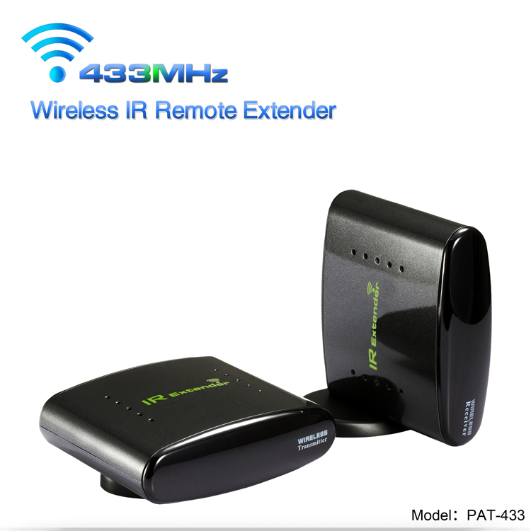 433 MHz Wireless Infrared Extender AV Sender with 200 M Transmit Range PAT-433