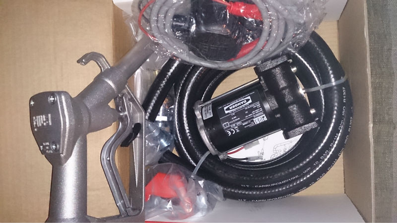Diesel Transfer Pump 12 or 24 volt pump