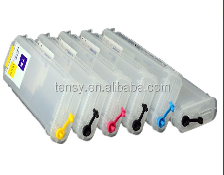 empty for hp 70 cartridges For HP 70 For HP Designjet Z2100 Z5200 Z5400 Z3100 Z3200 Printer refillable